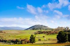 Tasmanien-landscapre Stockfotos