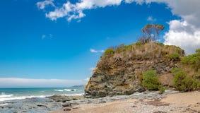 Tasmaniens kustlinje, orörd skönhet arkivbild