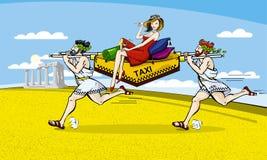 Tassì royalty illustrazione gratis