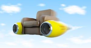 Tassì di aria Fotografie Stock