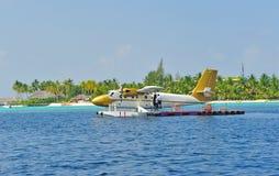 Tassì di aria delle Maldive Fotografia Stock Libera da Diritti