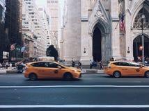Tassì di New York immagini stock