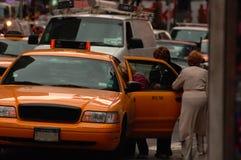 Tassì di NYC Immagini Stock Libere da Diritti