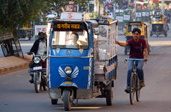 Tassì indiano Fotografie Stock Libere da Diritti
