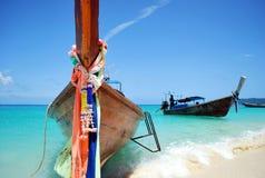 Tassì tailandese dell'acqua Fotografia Stock