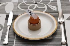 Tassa nell'uovo di Pasqua Fotografie Stock Libere da Diritti