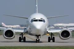 Tassazione dell'aereo Fotografie Stock