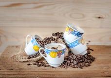 Tasse aromatique de café d'expresso Images stock