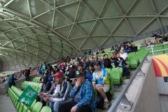 Tasse asiatique 2015 de CAF Photographie stock libre de droits