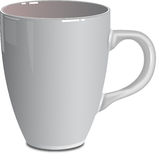 Tasse blanche Photo stock