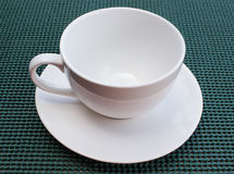 Tasse blanche Image stock