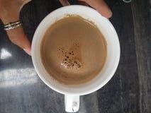 Tasse blanche de café photos libres de droits