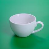 Tasse blanche vide photo stock