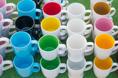 Tasse colorée photo stock