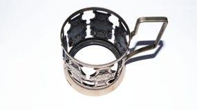 tasse cupless en métal Photographie stock libre de droits