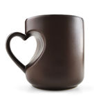Tasse d'amour Images stock