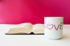 Tasse d'amour image libre de droits