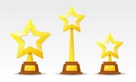 Tasse d'or de gagnant Image stock