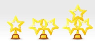 Tasse d'or de gagnant Image libre de droits
