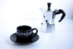 Tasse d'expresso Photos stock