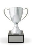 Tasse de gagnants de trophée Images libres de droits