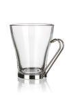 tasse d'isolement par glace Image stock