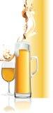 Tasse de bière. Image stock