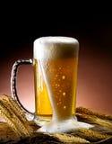 Tasse de bière Photo libre de droits