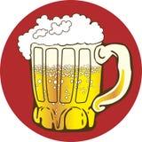 Tasse de bière illustration stock