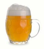 Tasse de bière blanche Image libre de droits