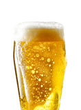 Tasse de bière sur le fond d'isolement Image stock