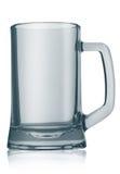 Tasse de bière vide Images stock