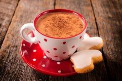 Tasse de cacao chaud image stock
