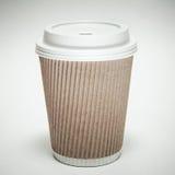 Tasse de café à aller Images libres de droits