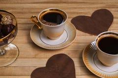 Tasse de café de café Photos stock