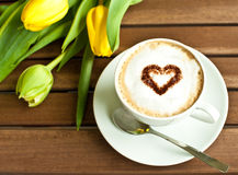 Tasse de café Photos libres de droits