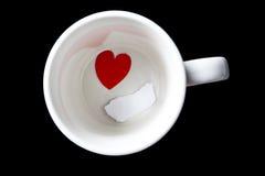 Tasse de café avec l'espace de copie Images libres de droits