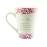 Tasse de café avec un texte d'amour Photographie stock
