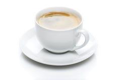Tasse de café blanc Photographie stock