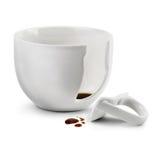 Tasse de café cassée Image stock