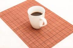 Tasse de café chaude et humide Photo libre de droits