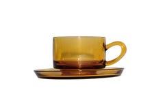 Tasse de café de Brown Photos stock