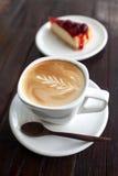Tasse de café de latte image libre de droits