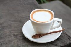 Tasse de café de latte images libres de droits