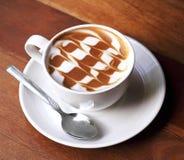 Tasse de café de latte photos libres de droits
