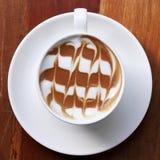 Tasse de café de latte image stock