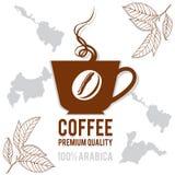 Tasse de café de logo pour votre conception Photos libres de droits
