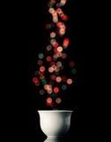 Tasse de café de Noël Photographie stock