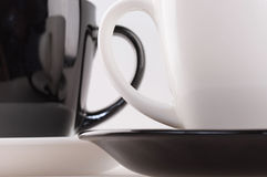 Tasse de café deux photos stock