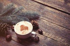 Tasse de café et de brench Photo stock